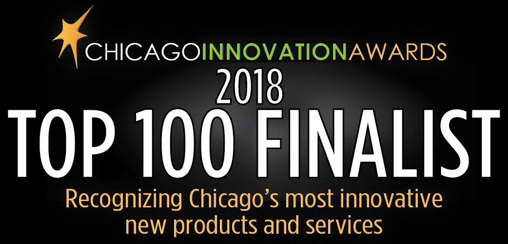 2Blades is a Top 100 Finalist in the 2018 Chicago Innovation Awards
